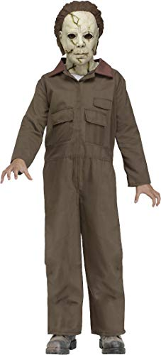 Fun World Licensed Michael Myers Costume, Large 12 - 14, Multicolor ()