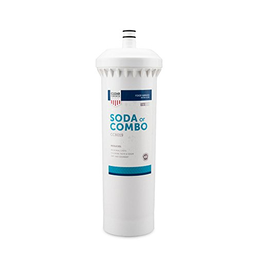 Clear Choice Soda Fountain Filtration System Replacement Cartridge for CUNO 55817-05 CFS8112 Also Compatible with Everpure EFS8002 EV9781-10, BevGuard BCG-2200, Nu Calgon 4622-20, 1-Pack by Clear Choice
