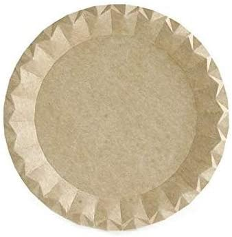 diam/ètre 18 cm 50 assiettes kraft biod/égradables /éco-freindly parfaites pour votre c/él/ébration