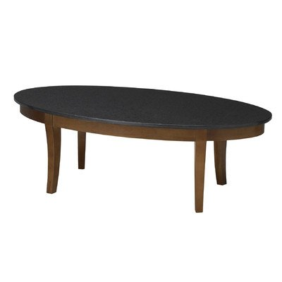 Mayline M103CSCR Midnight Oval Coffee Table 48