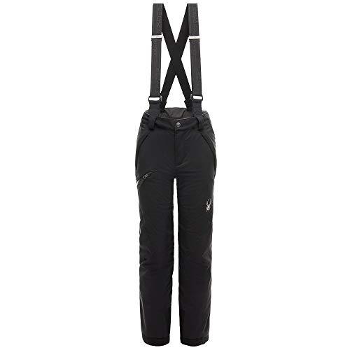 (Spyder Boys' Propulsion Ski Pant, Black/Black, Size)
