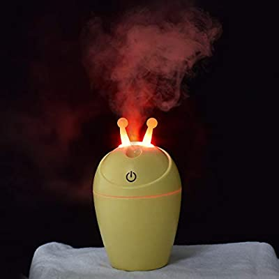 Ewendy - Humidificador de aire con difusor LED, creativo y bonito ...