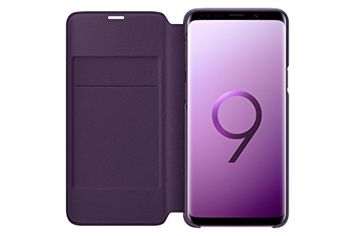 Samsung Galaxy S9 LED View Wallet Case, Violet
