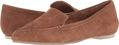 Dress Loafers Toe Womens Pointed Suede Chestnut Kid Too Audra Me qXZ4w1x
