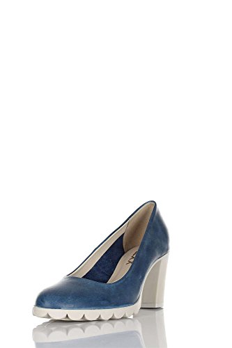 The Flexx Diplo Matic Pumps Frau Blau 35