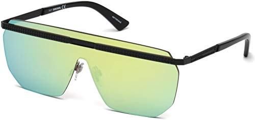Sunglasses Diesel DL 0259 93Q Shiny Light Green/Mirror