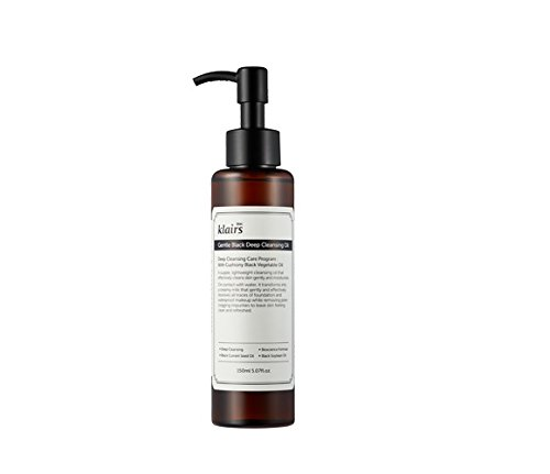 KLAIRS Gentle Black Deep Cleansing Oil (150ml, 5.07oz)