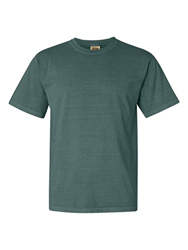 Comfort Colors Pigment-Dyed Short Sleeve Shirt, Bluespruce, XL (Pigment Dyed Comfort Colors)