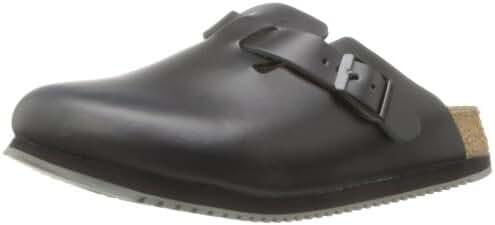 Birkenstock Unisex Professional Boston Super Grip Leather Slip Resistant Work Shoe