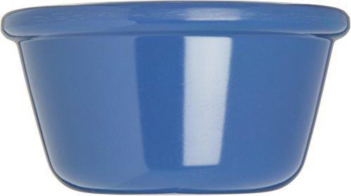 Carlisle S28514 Melamine Smooth Ramekin, 4 oz. Capacity, Ocean Blue (Case of 48) by Carlisle (Image #2)