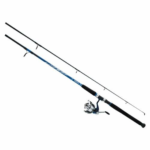 Med Foam Rod - 958773 Daiwa D-Wave Saltwater Spin Combo 3BB Sz50 9' 2pc Med
