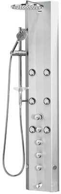 Tres griferia M259599 - Columna de ducha termostatica avan-tres ...