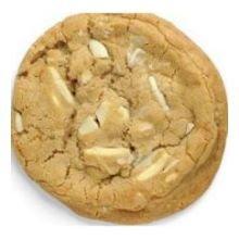 Otis Spunkmeyer Gourmet White Chocolate Macadamia Nut Bagged Cookie Dough, 5 Pound -- 4 per case. (Dough Cookie Otis Spunkmeyer)