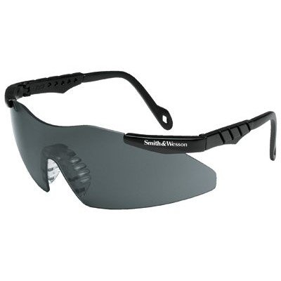 (Safety Glasses, Smoke, Scratch-Resistant)