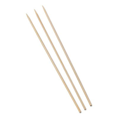 ROYAL PAPER PRODUCTS Bamboo skewers. Includes 10 packs of 100 skewers. 1000 per case. Manufacturer Part by Royal Paper