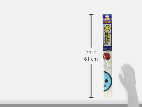 The Beistle Company 57638 1 count Birthday Smile Face Sign Banner Party Accessory 1//Pkg