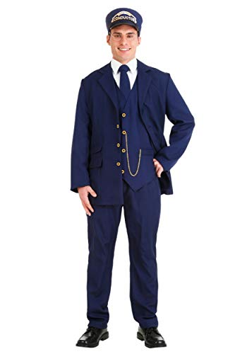 Polar Express Conductor Costume (North Pole Train Conductor Costume Adult Large)