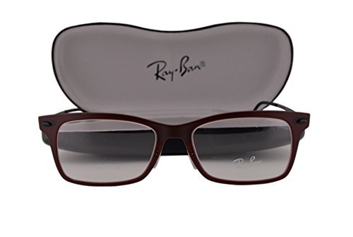 78510b5b3d Amazon.com  Ray-Ban RX7039 Eyeglasses 51-18-140 Matte Dark Red w ...