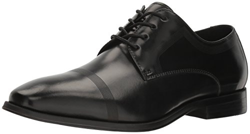 Kenneth Cole REACTION Men's Pure Hearted Oxford, Black, 9.5 M US