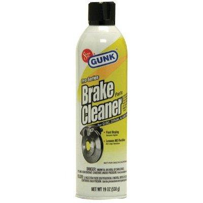 GUNK Chlorinated Brake Parts Cleaner, 19 oz. Aerosol - Lot of 12