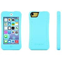 Griffin Turquoise Survivor Slim Protective Case for iPod touch (5th/ 6th gen.) - Mil-Spec Rugged Case Slimmed Down for the Street