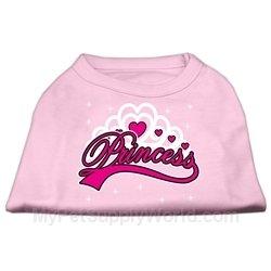 Dog Supplies Im A Princess Screen Print Shirts Pink Xxl (18), My Pet Supplies