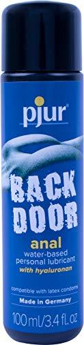 Pjur Backdoor Water-Based Anal Lubricant, 3.4 Fluid Ounce / 100 Milliliter