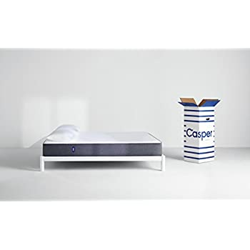 Casper Sleep Mattress – Supportive, Breathable and Unique Memory Foam – Scientifically Engineered for your Best Sleep - Bed in a Box - King