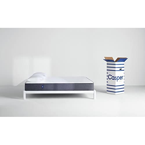 Casper Sleep Mattress – Supportive, Breathable and Unique Memory Foam – Scientifically Engineered for your Best Sleep -...