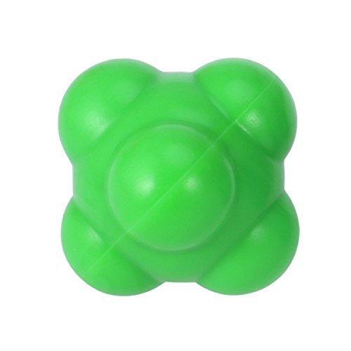 ROSENICE Boule de réaction pour l'agilité et la coordination rapide de la main et de l'œil (vert)