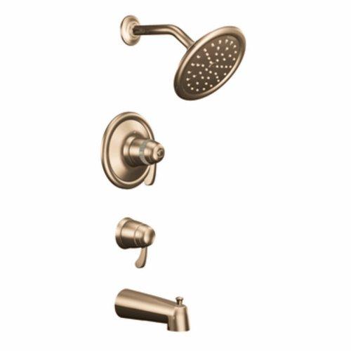 Exacttemp 3/4 Thermostatic Tub - Moen TS3450AZ Exacttemp Tub/Shower, Antique Bronze