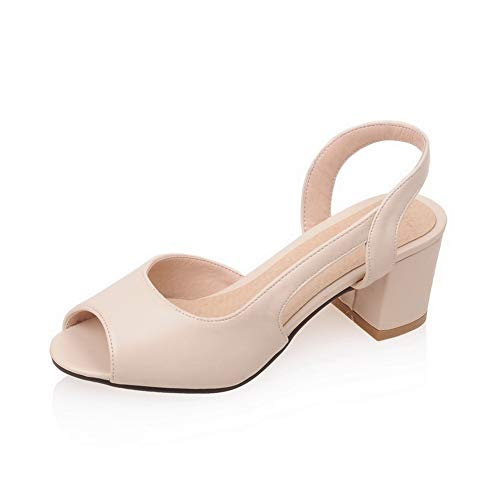 APL10465 Ouvert Beige Femme Bout BalaMasa On7xwdnqX