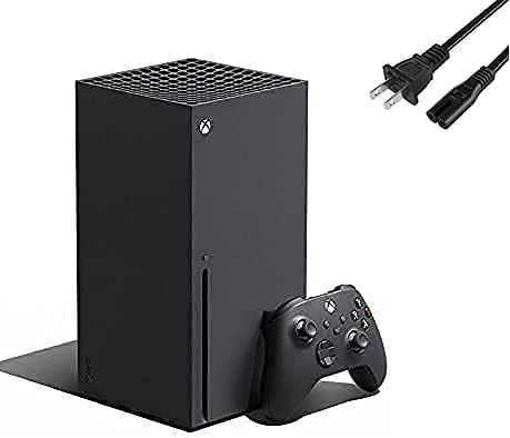 Microsoft Xbox Series X 1TB - Backward Compatible with Thousands of Games, The Fast, Ultra High Speed HDMI Cable, Fine-Tuned Performance, True 4K Gaming - U Deal Power Cord