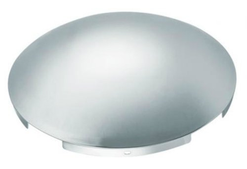 Roadmaster 203 Chrome Front Hub Cap with 4 Notch Cutout (For Steel Wheels)