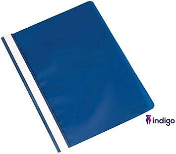Report Document Files Folders 2 Prong Indigo/® A4 Project Folder Blue 10