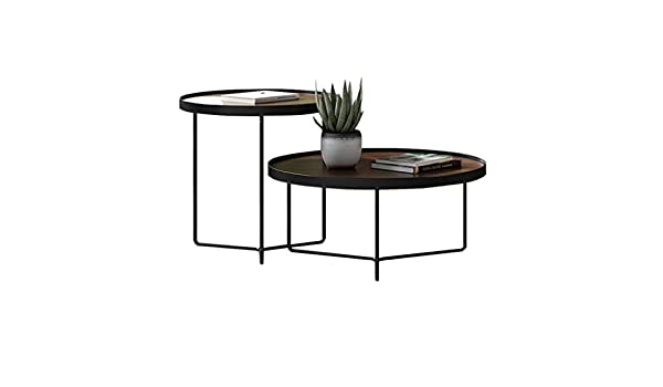 2 Juegos de Nido de mesas Muebles de Sala de Madera Sofá ...