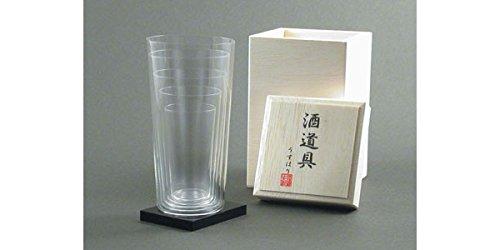 Usuhari Sake Glass SS-LL Size 5P Set Japan Kitchen Product by USUHARI