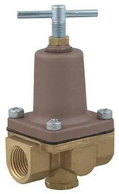 Pressure Regulator, 1/4 In, 1 to 25 psi by WATTS