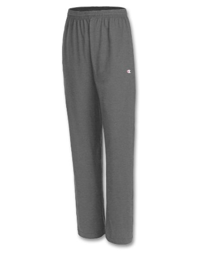 Champion Relaxed Jersey Pant - Champion Jersey Pant Mens Granite Heather Medium