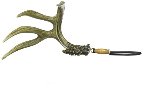 Big Rack Hanging Figurine, Mule Deer Shedz, 4.75