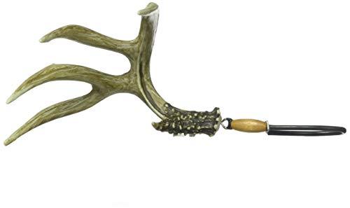 """Big Rack Hanging Figurine, Mule Deer Shedz, 4.75"""" x 8"""""""