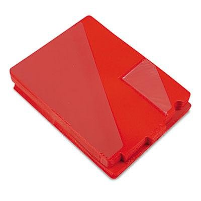 Brand New Smead Out Guides With Diagonal-Cut Pockets Poly Letter Red 50/Box