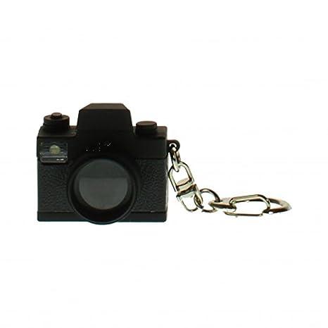 Llavero con Bombilla LED y Sonido, diseño cámara: Amazon.es ...