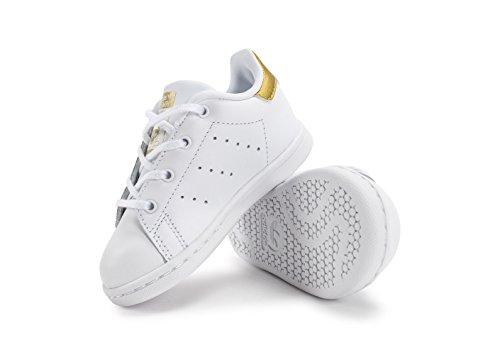 Smith i Ftwbla Sneaker Unisex Bianco Dormet Stan Bimbi adidas Dormet UgSqww