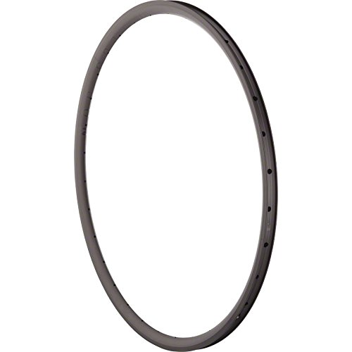 Velocity Deep V 700c Solid Black Rim, Non Machined Sidewall by Velocity (Image #1)