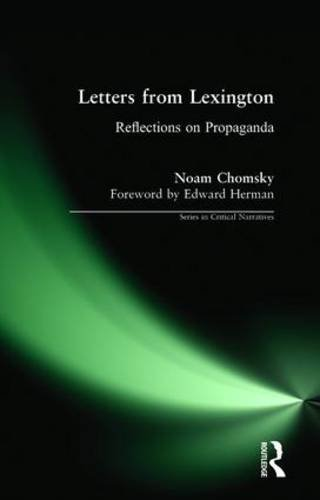 Letters from Lexington: Reflections on Propaganda (Series in Critical Narrative)