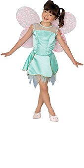 [Barbie Fairytopia Dahlia Costume Size M 8-10] (Fairytopia Barbie Costume)