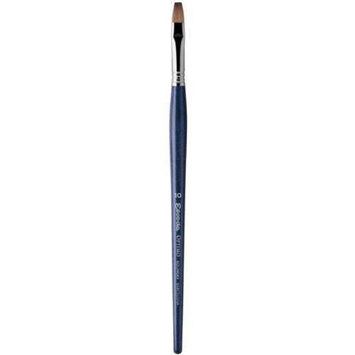 Escoda Optimo 2913 Oil and Acrylic Kolinsky Sable Paint Brush Bright Size 18 by Escoda
