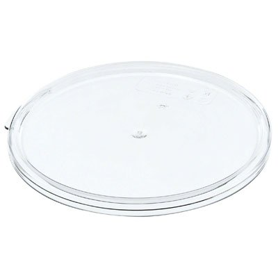 Cambro Camwear RFSCWC12135 Pack of 1 Round Covers for 22 qt Container (Cambro Container Plastic)