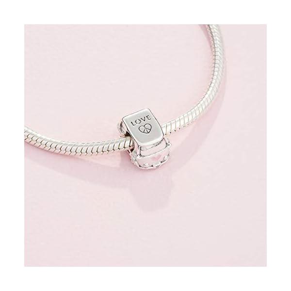 31uzooIzekL PANDORA Damen Silber Bead Charm - 797871EN160